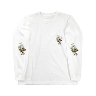 ROBOBO ヨウムのボルトロボ  Long sleeve T-shirts