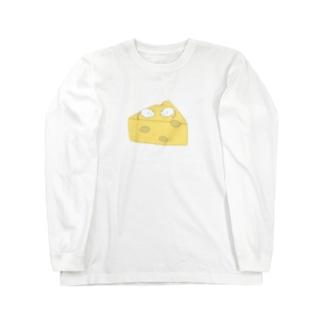 チーズねずみ Long sleeve T-shirts