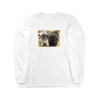 サスケとゴマ Long sleeve T-shirts