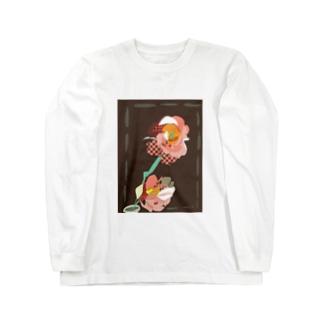 トルコキキョウ Long sleeve T-shirts