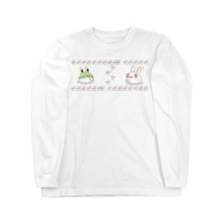 それじゃB級、死神くん。うさ魂デザイン Long sleeve T-shirts