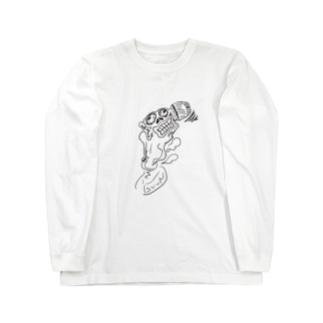 アイタタタ Long sleeve T-shirts