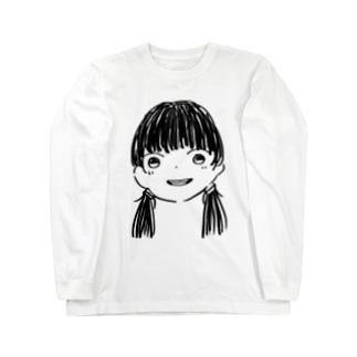 ⚠️限定色 黒髪Girl Long sleeve T-shirts