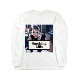 Smoking Kills Long sleeve T-shirts