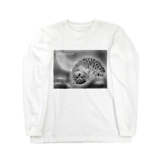 「羽化」―もうすぐ飛べるもん― Long sleeve T-shirts