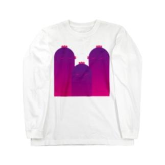 鶏頂 Long sleeve T-shirts