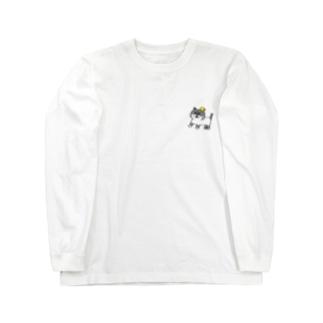 名もないネコ(仮) Long sleeve T-shirts