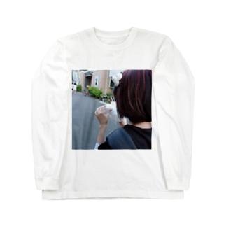 ☁︎ 睡魔ちゃん ︎︎☁︎︎⋆̩ Long sleeve T-shirts