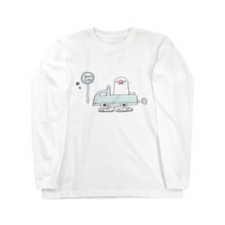 旅する文鳥 Long sleeve T-shirts