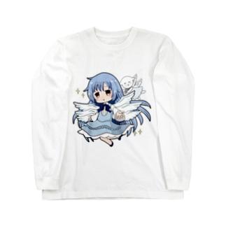 サリエル&ペタちゃんの服 Long sleeve T-shirts