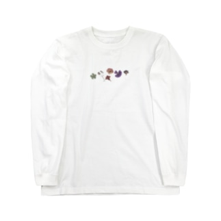 Flowers Long sleeve T-shirts
