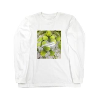梅酒 Long sleeve T-shirts