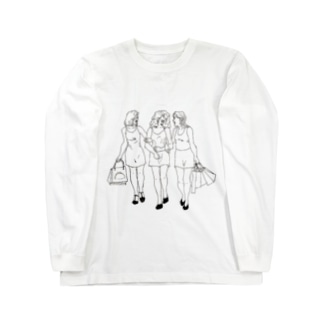 las chicas Long sleeve T-shirts