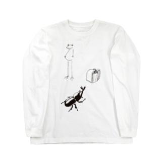 わくわくなつ休みシリーズ Long sleeve T-shirts