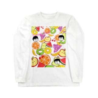 トロピカルフルーツ Long sleeve T-shirts