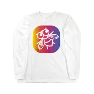 ハエサン 4 Long sleeve T-shirts