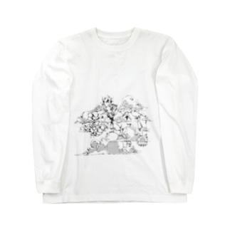 さ Long sleeve T-shirts