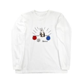 ボッチャ!スロー(投球) Long sleeve T-shirts