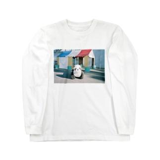 よどんでいるのゆうえんち Long sleeve T-shirts