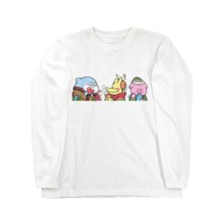 ピカロン Long sleeve T-shirts