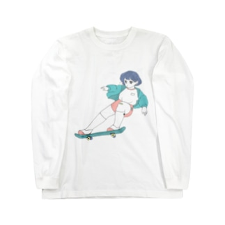 スケボーちゃん Long sleeve T-shirts
