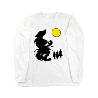 狼女 Long sleeve T-shirts