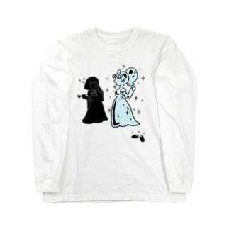 ガラスのシンデレラ Long sleeve T-shirts