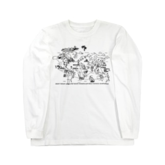 SURFING WORLD TOUR Long sleeve T-shirts