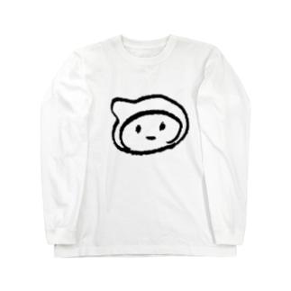 シンプルドロンちゃん Long sleeve T-shirts