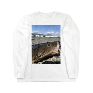 マゴチ Long sleeve T-shirts