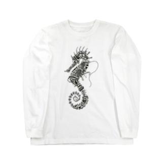 タツノオトシゴ<廃> Long sleeve T-shirts