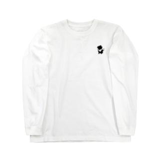 【nina&bart】素バート Long sleeve T-shirts