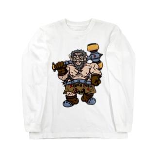 ドワーフ・キング 『バイエル』 Long sleeve T-shirts