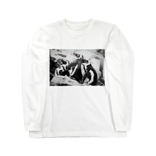 ペンギン Long sleeve T-shirts