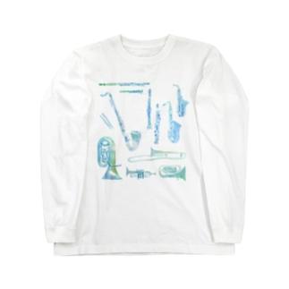 gakki Long sleeve T-shirts