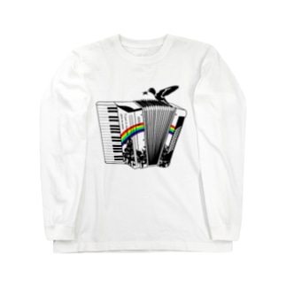 Accordion/BK Long sleeve T-shirts