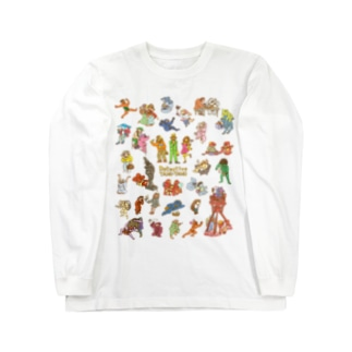 タヌタヌ探偵01 Long sleeve T-shirts