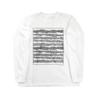 Striped pattern Long sleeve T-shirts