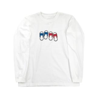 台湾サンダル Long Sleeve T-Shirt