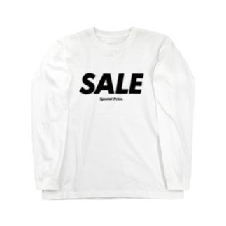セール(special price)  Long sleeve T-shirts