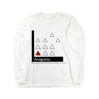 Anaguma. Long sleeve T-shirts