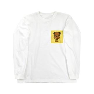 濃goods(ブリュッセルグリフォン) Long sleeve T-shirts
