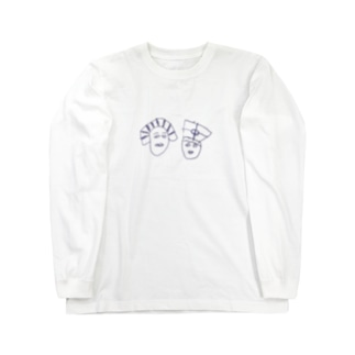 ツタンかーめん Long sleeve T-shirts