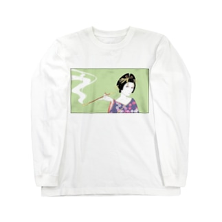 花魁モドキ Long sleeve T-shirts