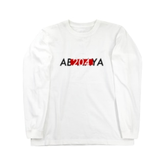 あばらや赤四角 Long sleeve T-shirts