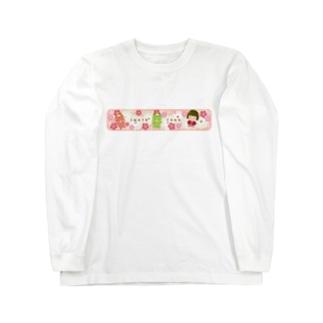 遠野トリオ和柄 Long sleeve T-shirts