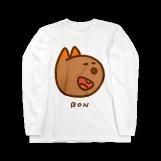 BAMI SHOPのにっこりボンくん(カラー) Long sleeve T-shirts