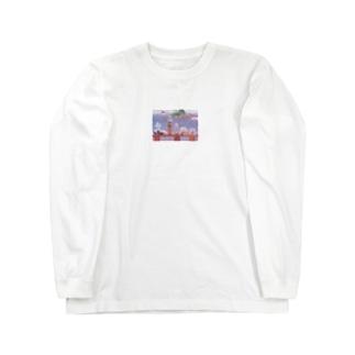 キャンプの思い出 Long sleeve T-shirts