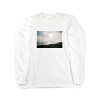 冬の七里ヶ浜 Long sleeve T-shirts