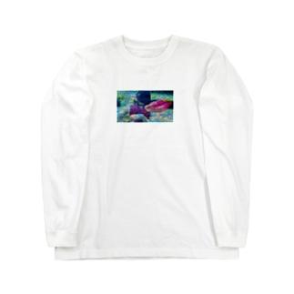 しゃしん Long sleeve T-shirts